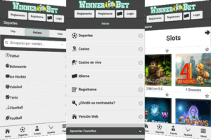 Winnerbet mobile app